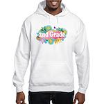 2nd Grade Retro Hooded Sweatshirt