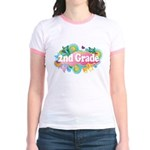 2nd Grade Retro Jr. Ringer T-Shirt