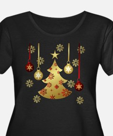 Cute Gold christmas T