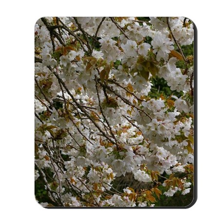 White mass Mousepad