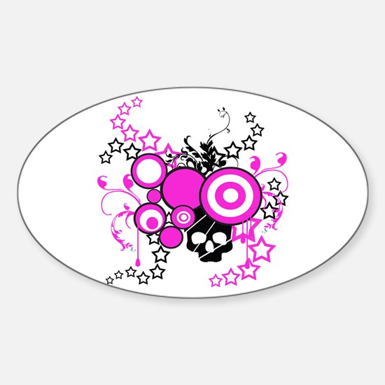 Punk Rock Oval Decal