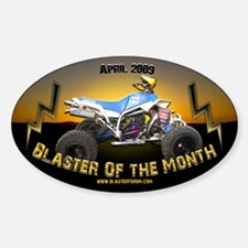 BOTM Oval Decal
