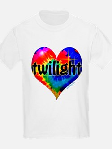 Twilight Tie-Dye Heart T-Shirt
