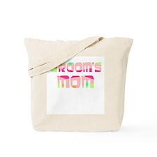 Confetti Groom's Mom Tote Bag