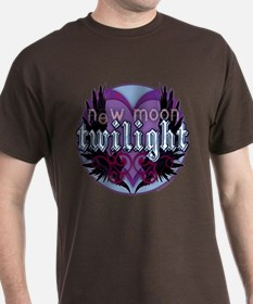 Twilight New Moon Winged Hearts T-Shirt