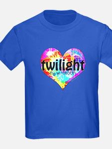 Twilight New Moon Peace Tie-Dye T