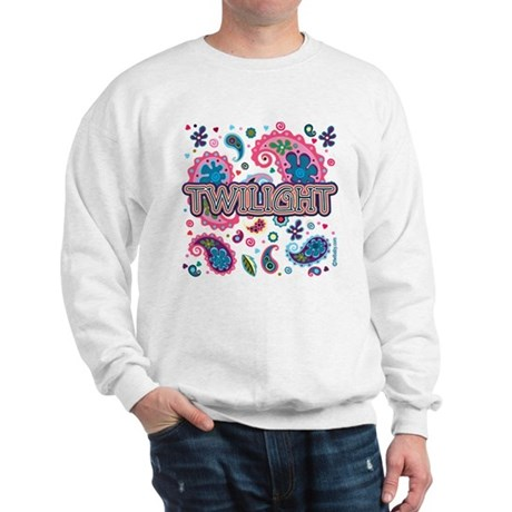 Twilight Retro Paisley Sweatshirt