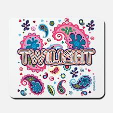 Twilight Retro Paisley Mousepad