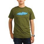 Fishstick Fish Organic Men's T-Shirt (dark)