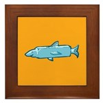 Fishstick Fish Framed Tile