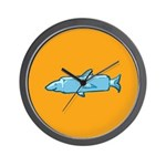 Fishstick Fish Wall Clock