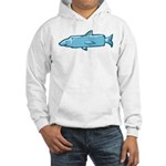 Fishstick Fish Hooded Sweatshirt