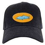 Fishstick Fish Black Cap