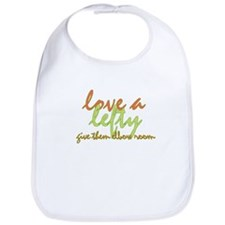 Lefty Love Bib