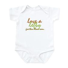 Lefty Love Infant Bodysuit