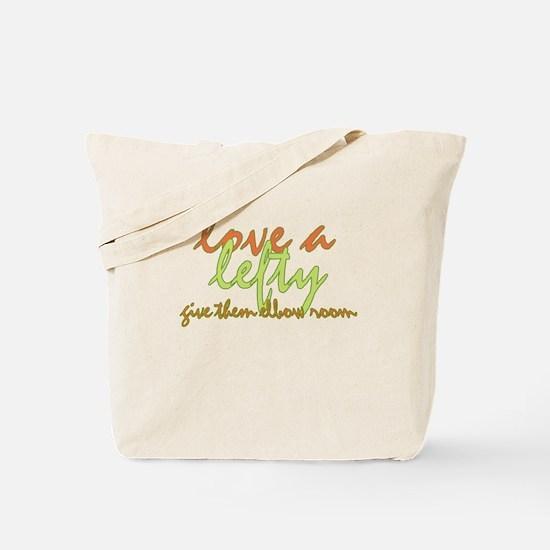 Lefty Love Tote Bag