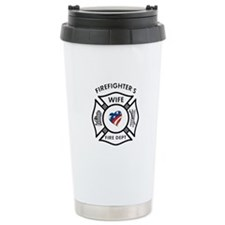 Fire Fighter Wife Travel Mug