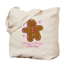 Sugar & Spice Gingerbread Tote Bag