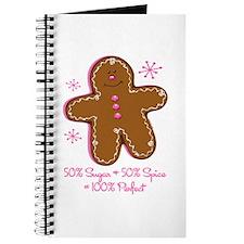 Sugar & Spice Gingerbread Journal