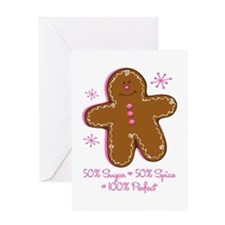 Sugar & Spice Gingerbread Greeting Card