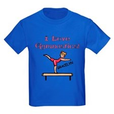 I Love Gymnastics (Gracelyn) T