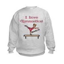 I Love Gymnastics (Gracelyn) Jumpers