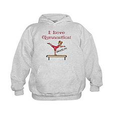 I Love Gymnastics (Gracelyn) Hoodie