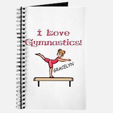 I Love Gymnastics (Gracelyn) Journal