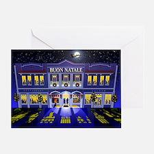 La Notte Prima di Natale Greeting Card