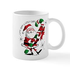 Santa Raising Cane Mug