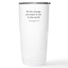 Mahatma Gandhi 5 Travel Mug