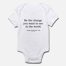 Mahatma Gandhi 5 Infant Bodysuit