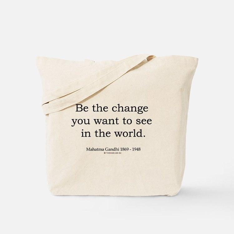 Mahatma Gandhi 5 Tote Bag