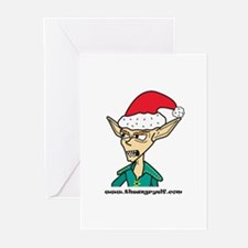 theangryelf.com Greeting Cards (Pk of 10)