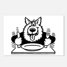 Hungry dog Postcards (Package of 8)
