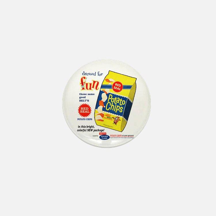 Cute Super bowl ad Mini Button