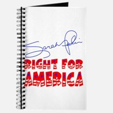 Sarah Palin Right For America Journal