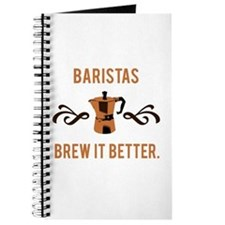 Baristas Brew it Better Journal