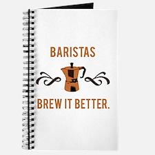 Baristas Brew it Better Journal