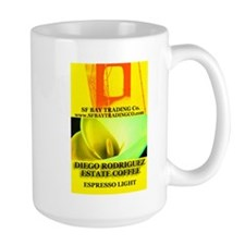 Diego Rodriguez Estate Coffee Espresso Light Mug