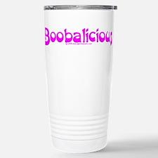 Boobalicious Stainless Steel Travel Mug