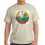 Laos Coat Of Arms Ash Grey T-Shirt