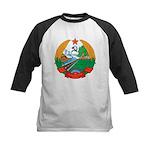 Laos Coat Of Arms Kids Baseball Jersey