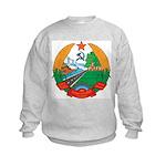 Laos Coat Of Arms Kids Sweatshirt