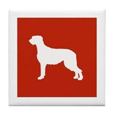 Irish Wolfhound Tile Coaster