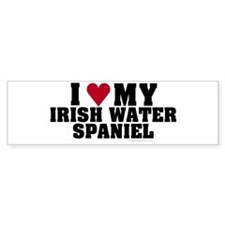 I Love My Irish Water Spaniel