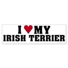 I Love My Irish Terrier