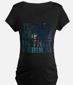 Janeway Coffee In That Nebula Maternity T-Shirt