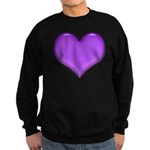 Purple Heart Sweatshirt (dark)