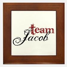 Team Jacob Framed Tile